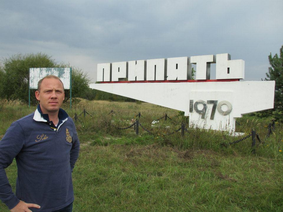При́пять (Pripyat) mönsterstaden som byggdes samtidigt med reaktor ett. En lyxig stad för Sovjet medborgaren som arbetade med atomenergi.
