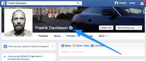 Verified profile - Facebook confirmed this is the authentic profile for this public figure.